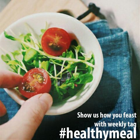 healthy meals photo tag