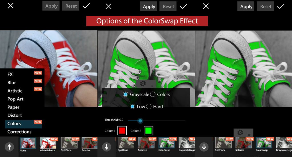 picsart photo effects update on windows phone