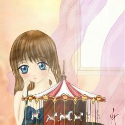 drawing anime carousel toy dccarousel