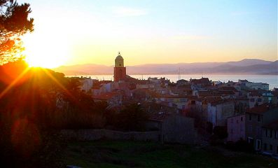 sunset saint-tropez photography