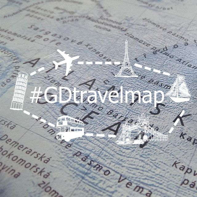travelmap graphic design contest