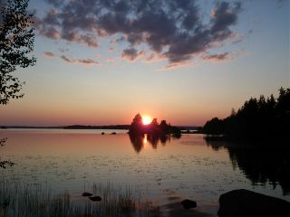 summer sunset nature photography finland