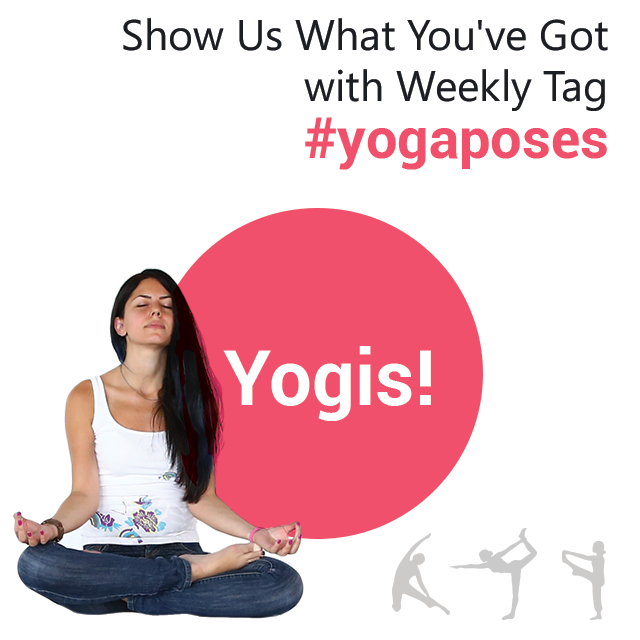 yoga poses photo tag