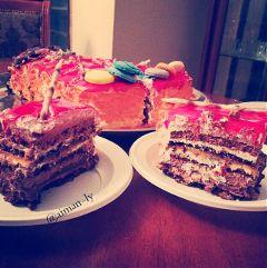 #تصويري libya cake flower summer
