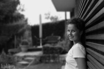 wapblackandwhiteportrait black & white me