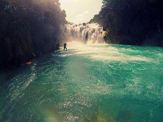 mexico nature travel colorful splash