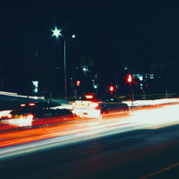 night shutter speed lights urban