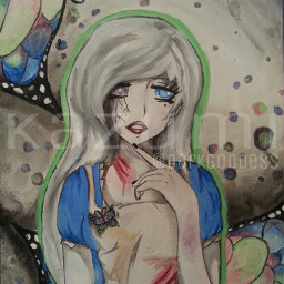 alice in wonderland madness my version painting