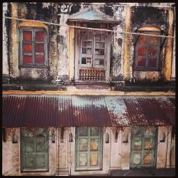 vintage old buildings architecture rott