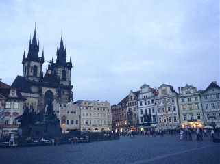 city architecture prague travel