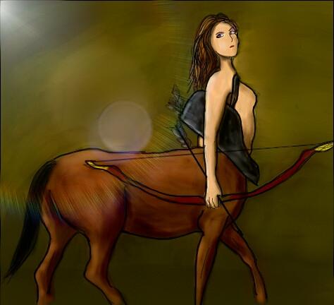 My entry for DC Centaur!!  Hope you like it! I'm back again! Haha #dccentaur #s4