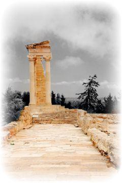 greek temple photography mhnec cyprus