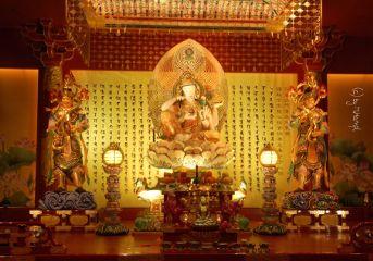 mhnec temple singapore travel colorful