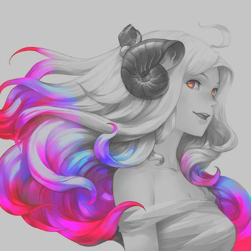 Good morning 😘 anime demon girl image by usako✨