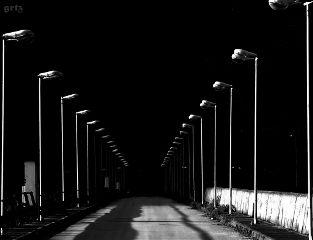 black photography travel road dark