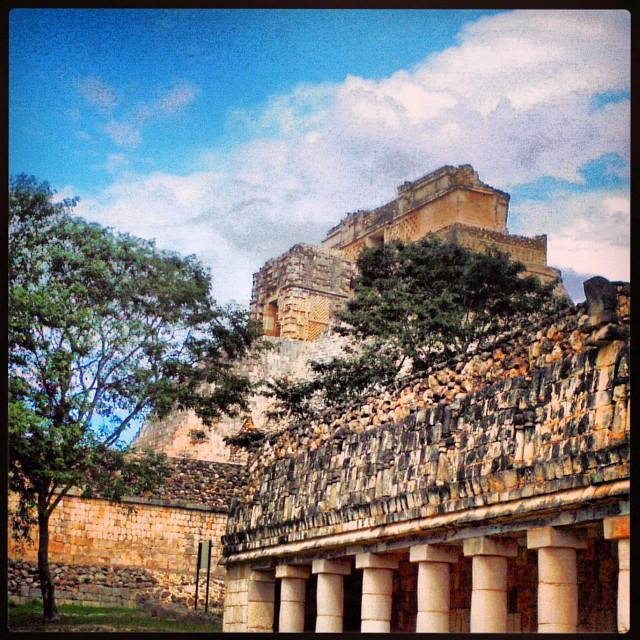 Uxmal, ciudad, maya