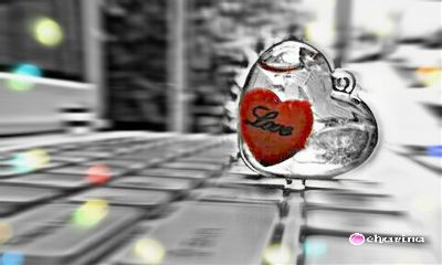 love heart valentine valentinesday bokeh