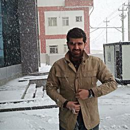 work bank employe snow
