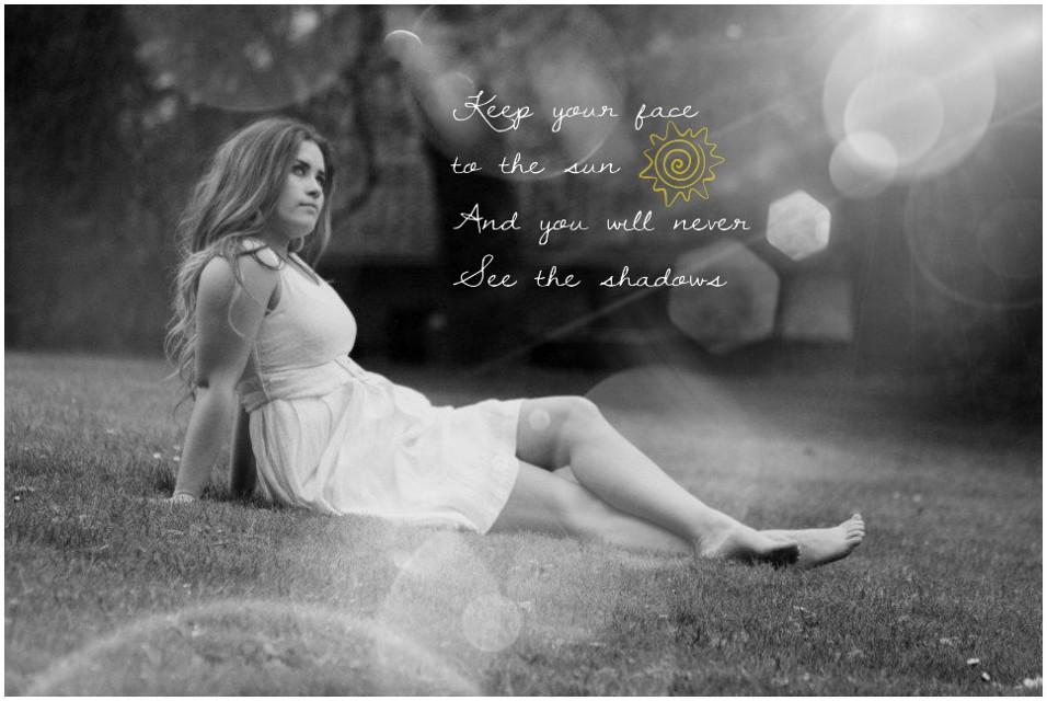 #guotes&sayings #black & white #lost in thought #people #girl #wondefulday #beautufitul  #enjoylife #sunshinephotography #sunshine #guotes&sayings